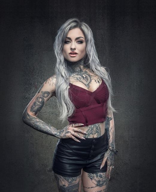 Shavertown tattooer ryan ashley malarkey advances on ink for Ashley meuble st bruno